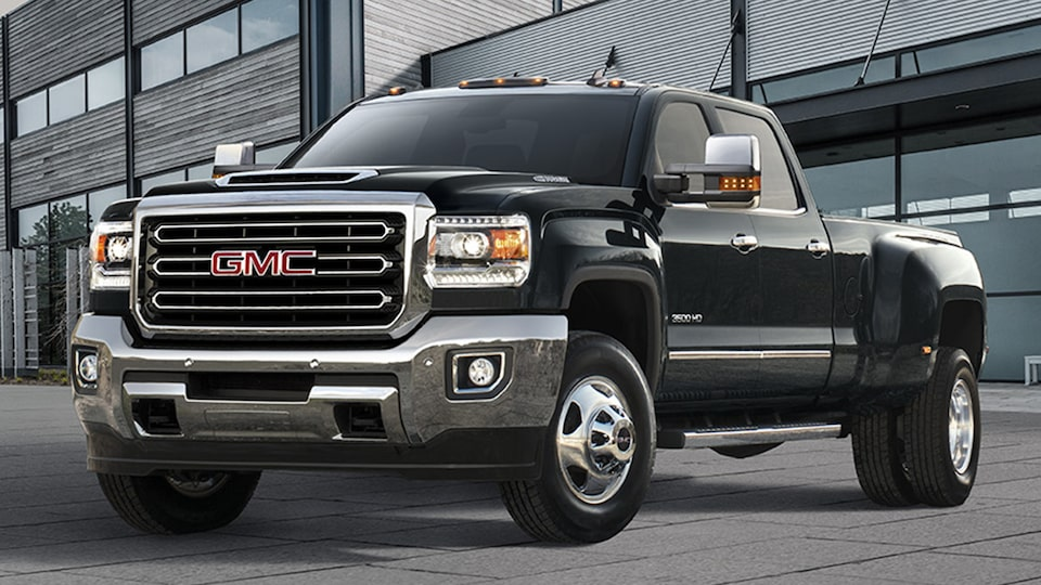 GMC commercial vehicles Sierra heavy duty truck.