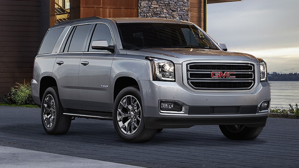 GMC commercial vehicles Yukon SUV.