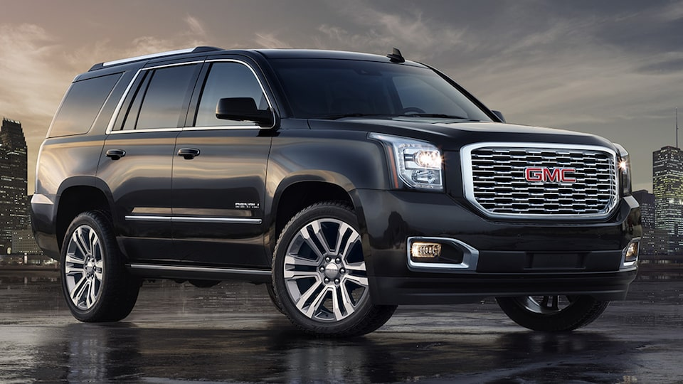 GMC commercial vehicles Yukon Denali.
