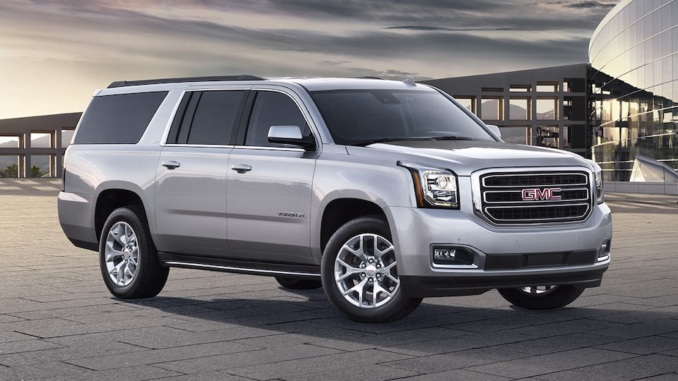 GMC commercial vehicles Yukon XL SUV.