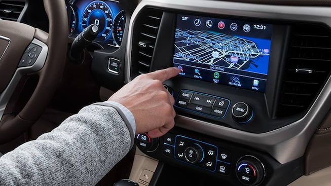 Homepage customization available for 2019 GMC vehicles.