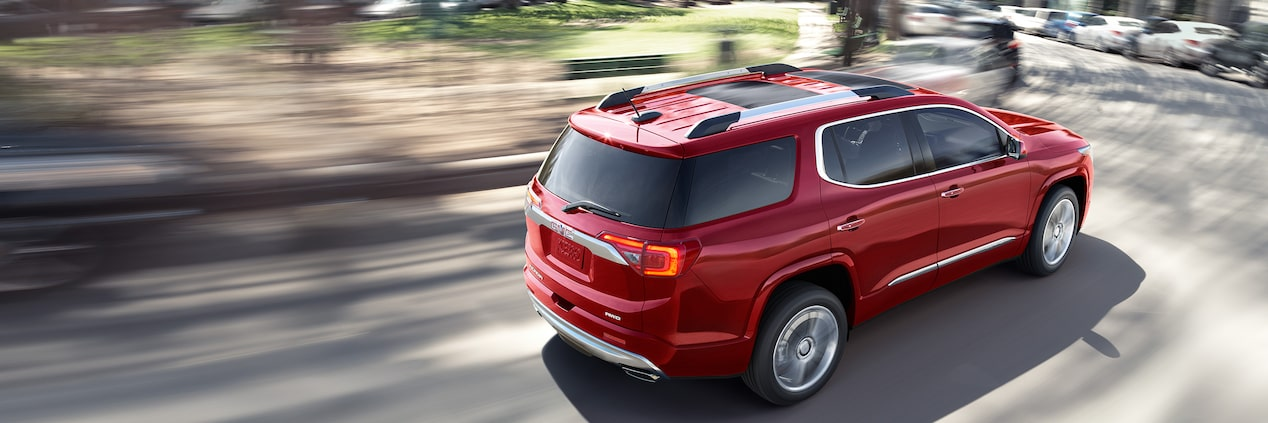The Acadia Denali features high performance with intelligent control.