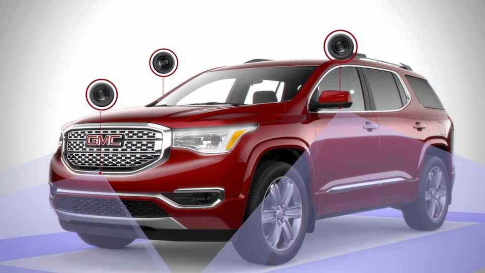 GMC Acadia Denali with available Surround Vision.