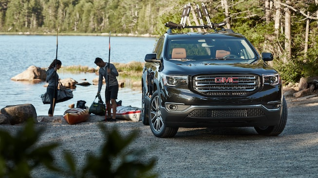The 2019 GMC Acadia's featured all-terrain performance.