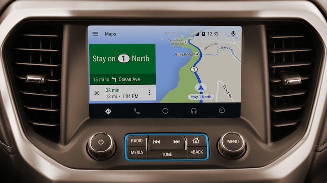 The 2019 Acadia features Android Auto compatibility.