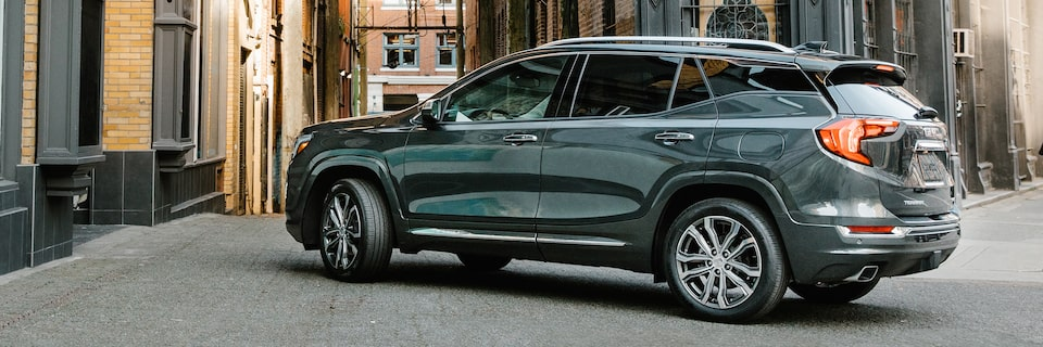 The 2019 Terrain Denali comes with a full suite of available driver-assist and safety technologies.