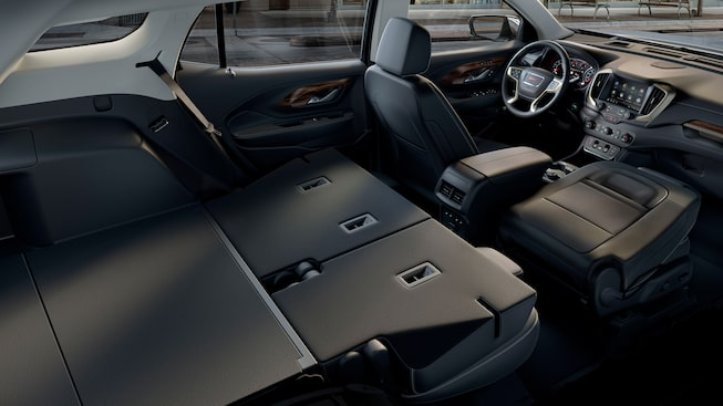 The GMC Terrain Denali offers remarkable cargo capacity with its front-to-back load floor.