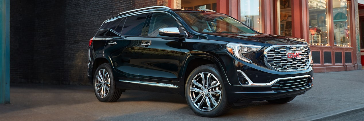 2019 GMC Terrain Denali small luxury SUV.