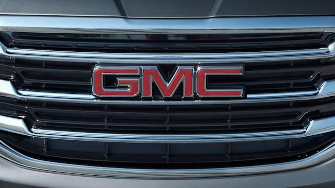 The GMC Terrain exterior: refined grille design.