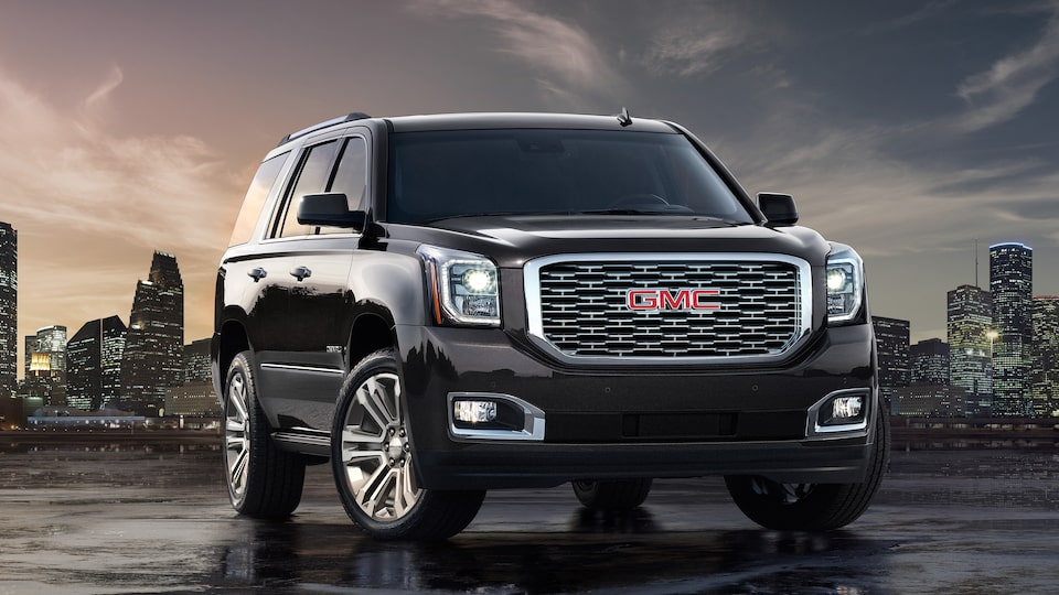 The 2019 GMC Yukon Denali.