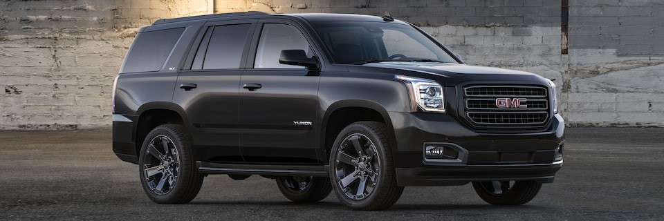 2019 GMC Yukon Graphite Edition full-size luxury SUV.