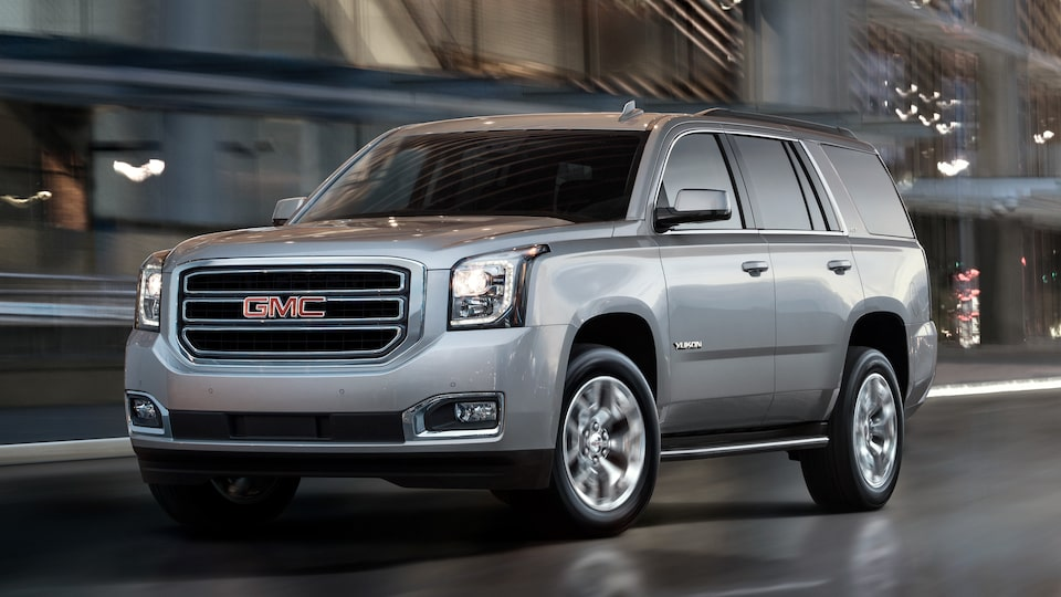 Exterior of the GMC Yukon SLE and SLT