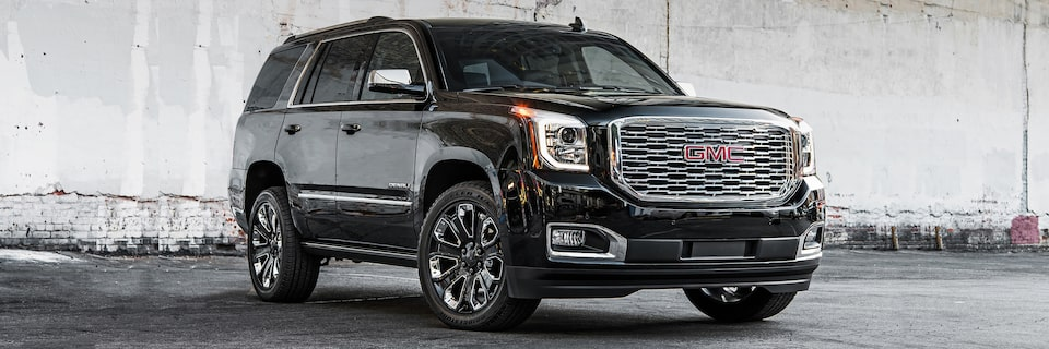 2019 GMC Yukon Black Edition full-size luxury SUV.