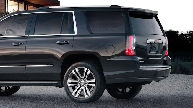 The 2019 GMC Yukon Denali with automatic locking rear differential.