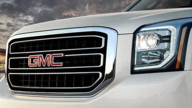 The unmistakable face of the GMC Yukon.