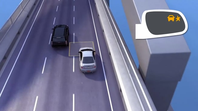 GMC Yukon's Blind Zone assist safety feature.