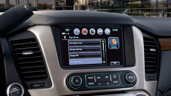 The 2019 Yukon is available with GMC's Teen Driver feature.