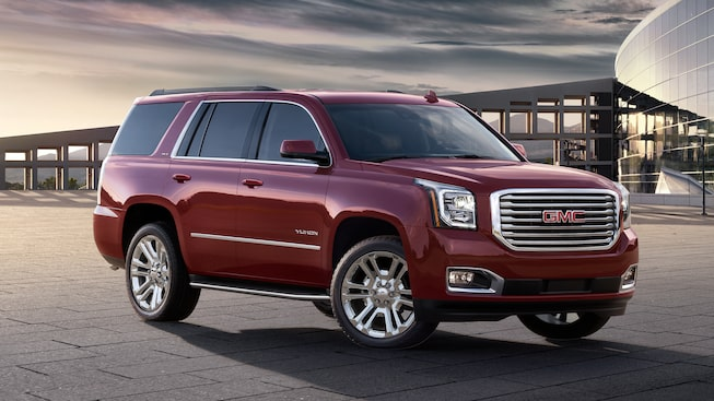 The 2019 Yukon in Crimson Red Tintcoat.