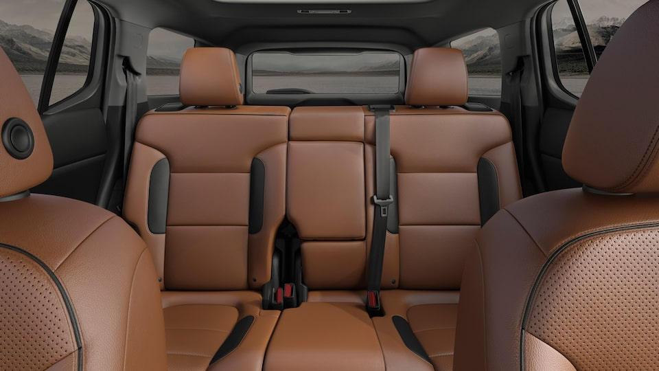 2020 GMC Acadia AT4 Mid-Size SUV: Interior Rear Seats.