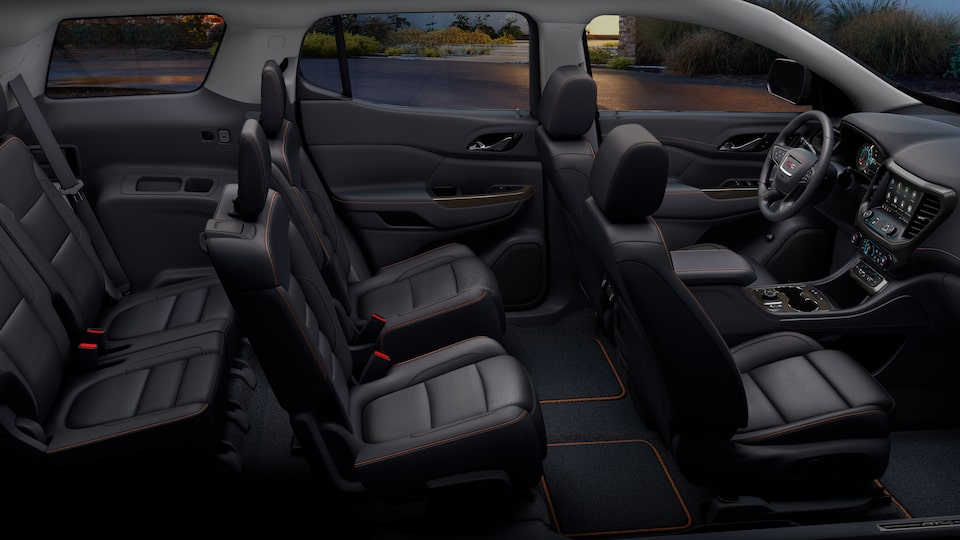 2020 GMC Acadia AT4 Mid-Size SUV: Interior Cabin.