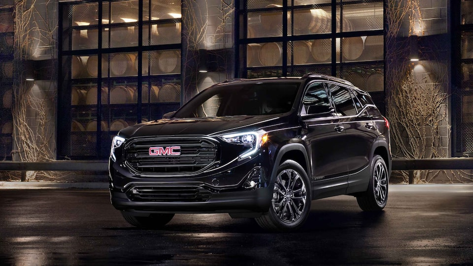 2021 GMC Terrain Elevation parked on the road.