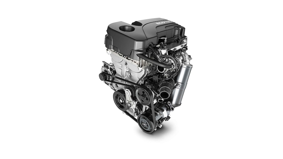 2021 Terrain 1.5L turbo-charged 4-cylinder engine.