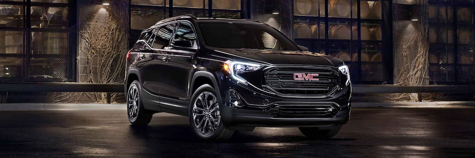 The 2021 GMC Terrain Elevation edition.
