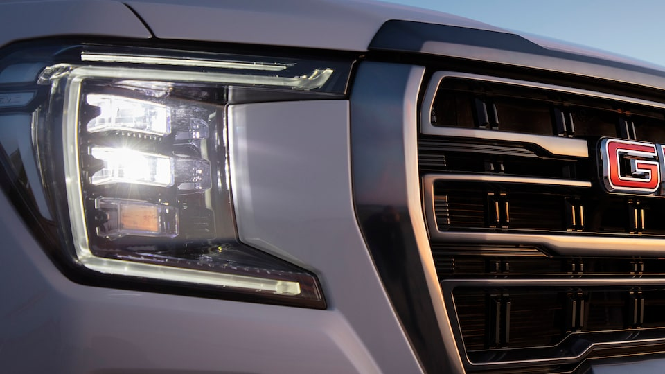 GMC Yukon safety headlamps feature.