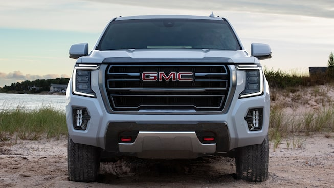 2021 Yukon AT4 front-view.