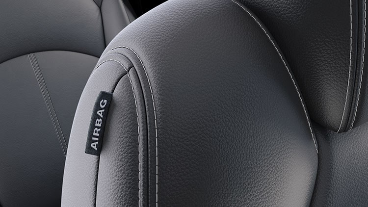 2020 GMC vehicles offer safety airbags.