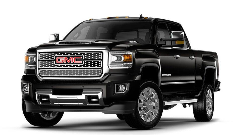 2019 GMC Sierra 2500HD heavy-duty pickup truck.