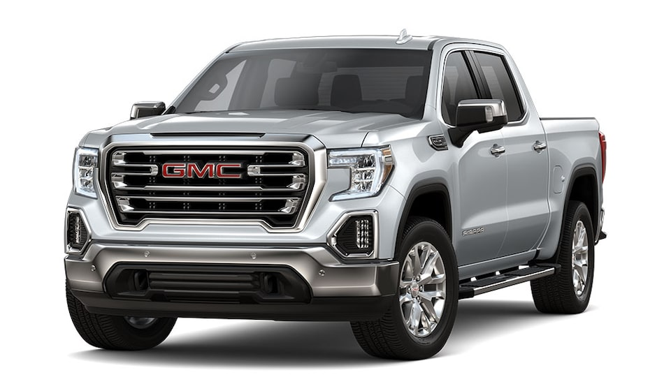 2020 GMC Sierra 1500 Pickup Truck In Quicksilver Metallic.