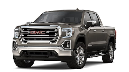 2019 Sierra 1500 in Dark Smokey Quartz Metallic colour.