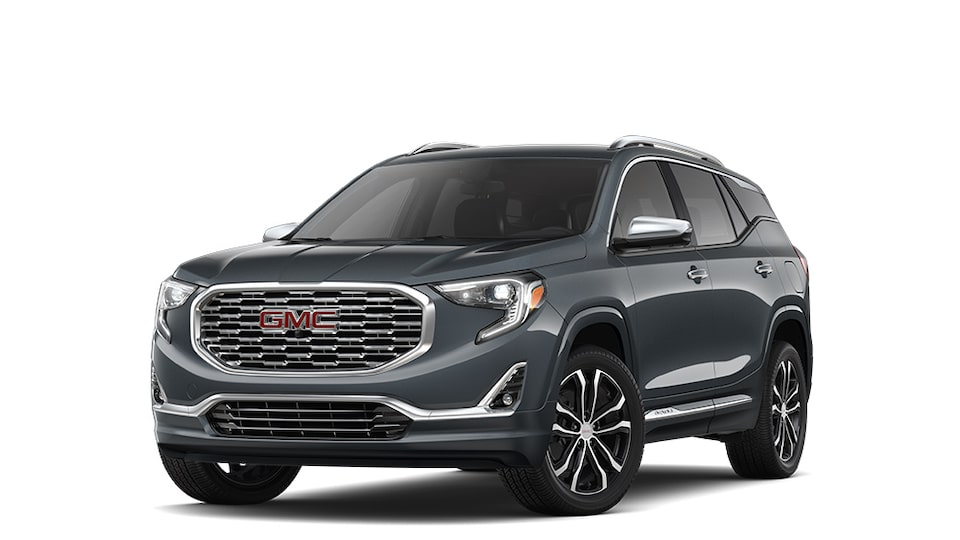 2019 GMC Terrain  in Graphite Grey Metallic colour.