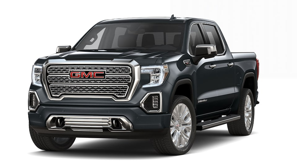 2020 GMC Sierra Denali Luxury Truck In Carbon Black Metallic.