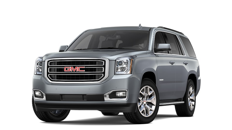 2020 GMC Yukon in Satin Steel Metallic.