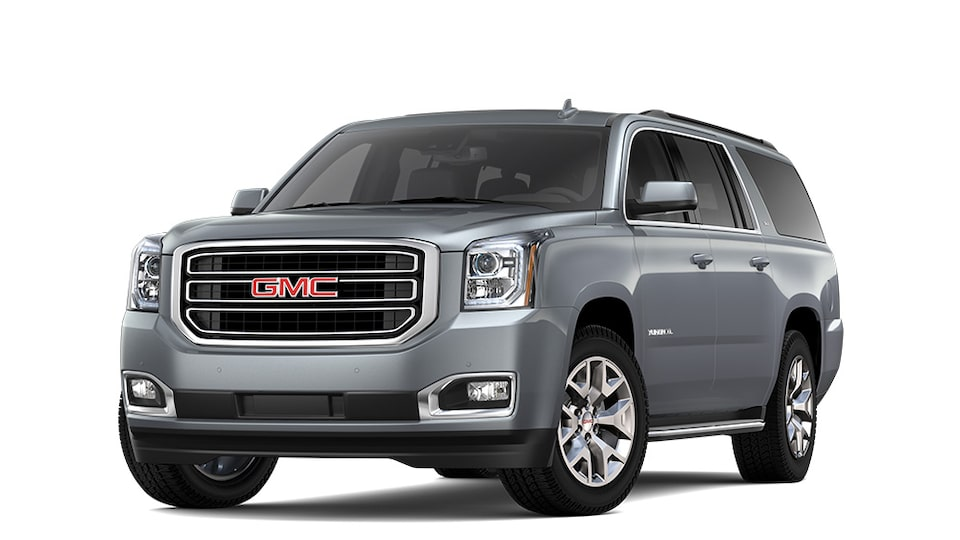 2020 GMC Yukon XL Dark Sky Metallic.