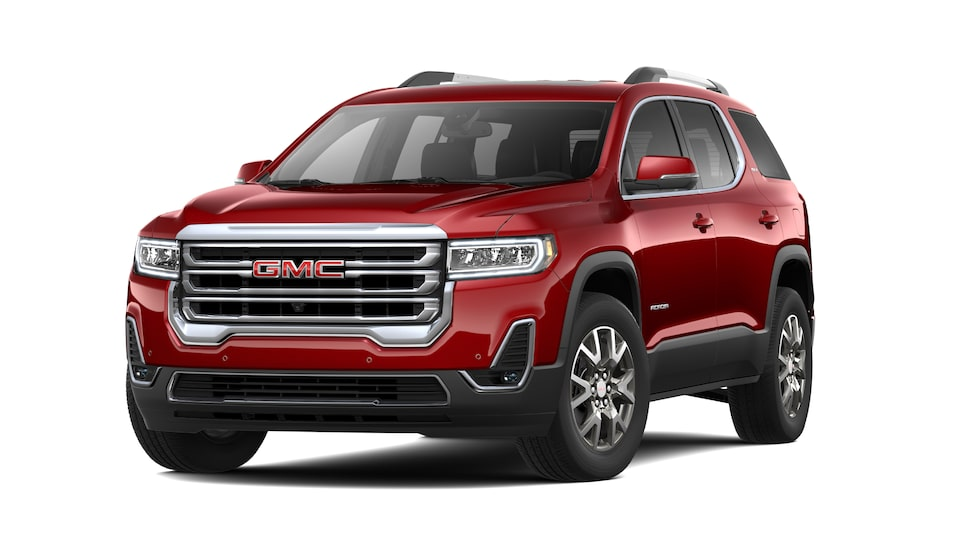 2021 GMC Acadia SLT in Cayenne Red