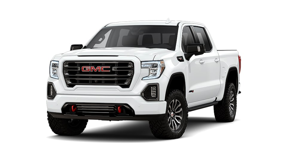 2021 GMC Sierra 1500 AT4 in Summit White