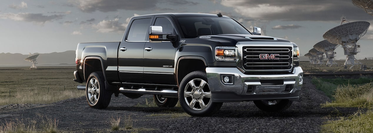 2019 GMC heavy-duty pickup trucks.