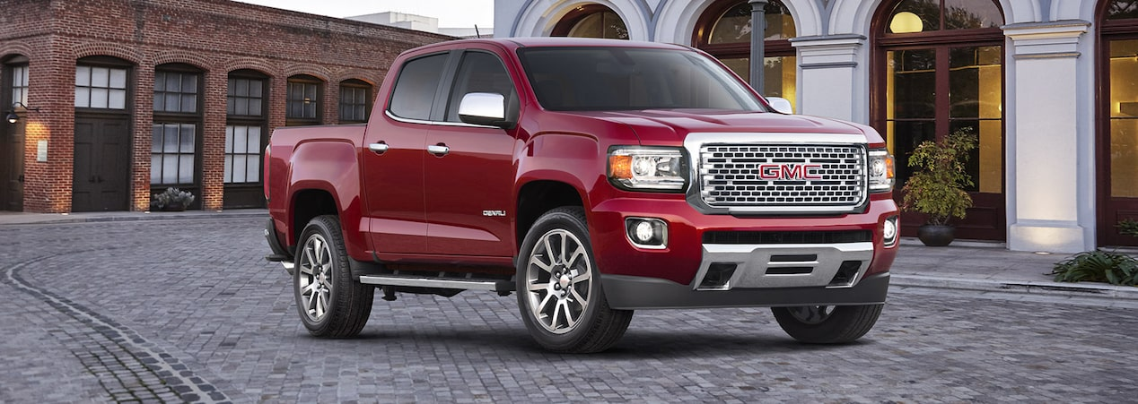 2019 GMC mid-size pickup trucks.
