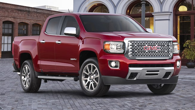 The 2019 GMC Canyon Denali.