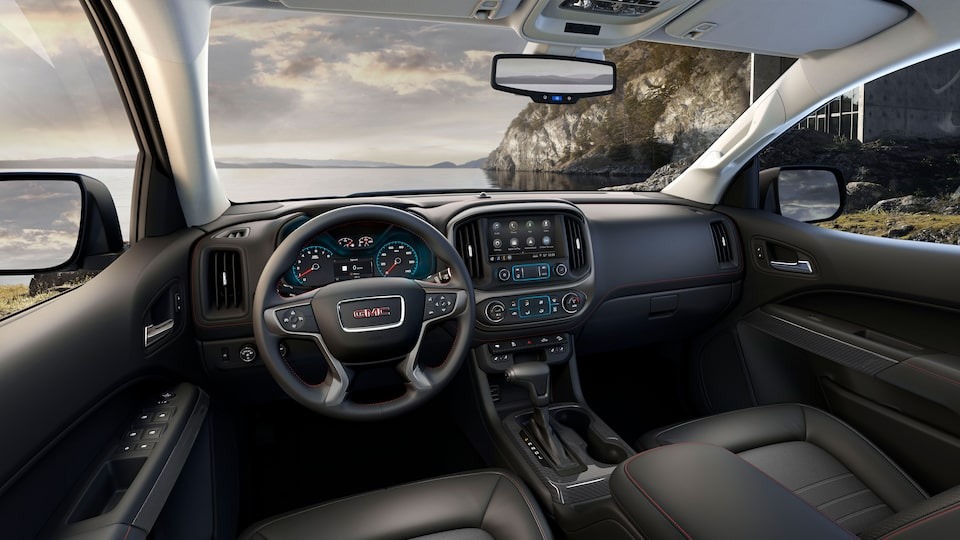 2019 GMC Canyon All Terrain with quiet spacious cabin.