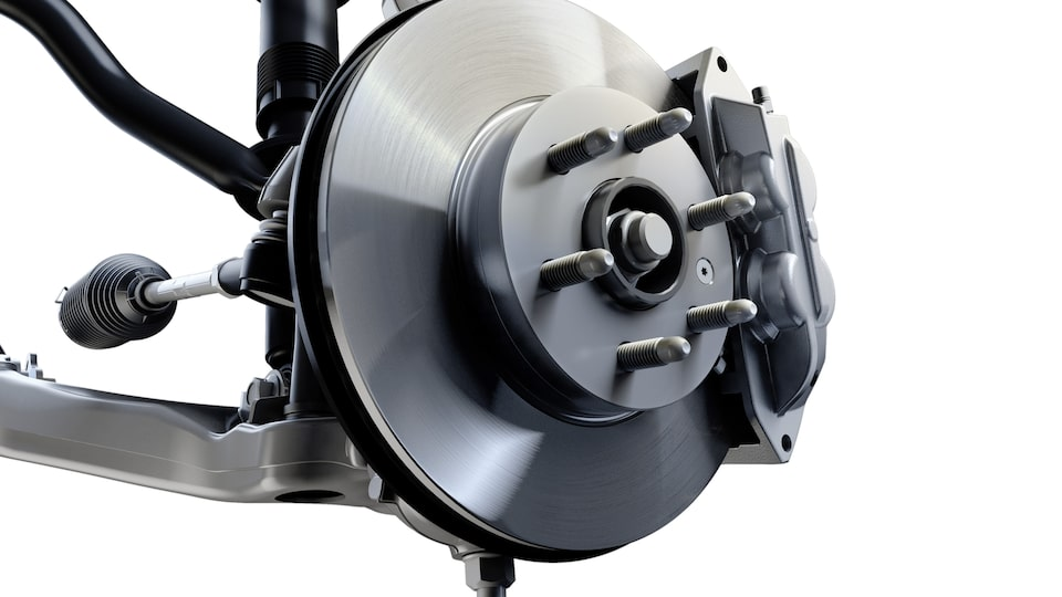 GMC Duralife brake rotors with Ferritic Nitro-Carburizing technology.