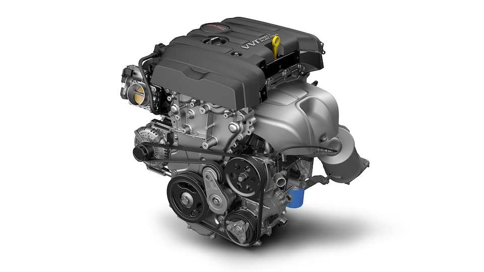 GMC Canyon's 2.5L 4-cylinder gas engine.