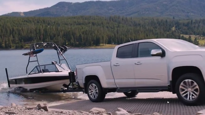2019 GMC Canyon's Hill Assist feature.