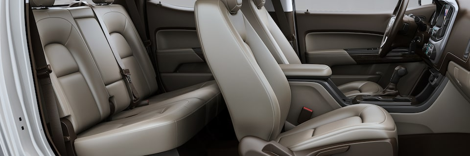 GMC Canyon's available Rear Seat Reminder feature.