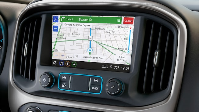 2019 Canyon's available Infotainment system.