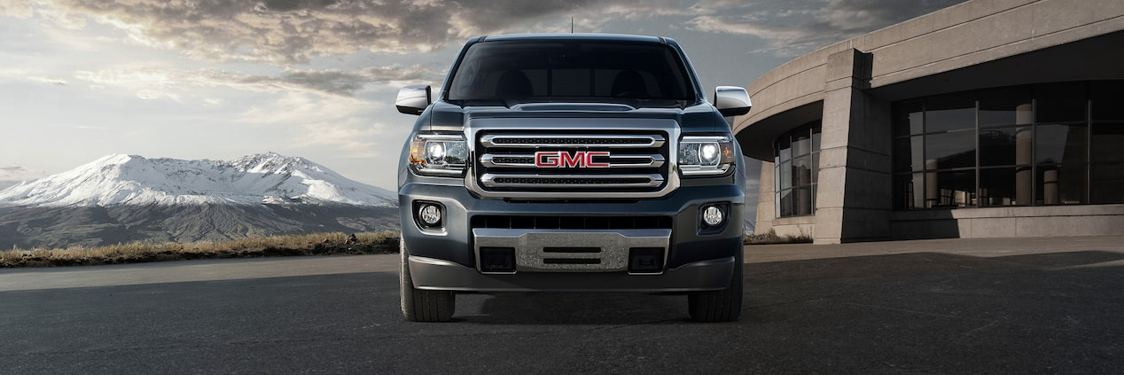 Front exterior of the GMC Canyon.