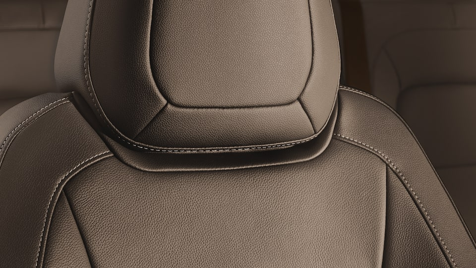 The Canyon mid-size pickup truck comes with available heated seats.